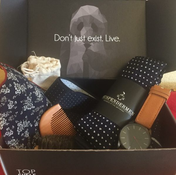Top Shelf Gift Box for Men: Perfect for Any Gent