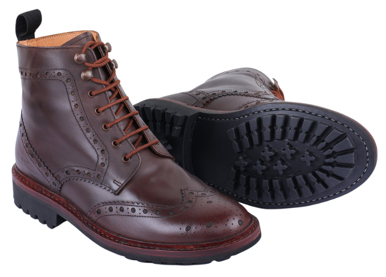 The perfect pair of mens dress boots for business casual